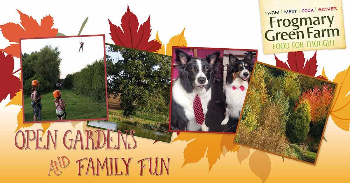 Open Gardens and Family Fun Day at Frogmary Green Farm