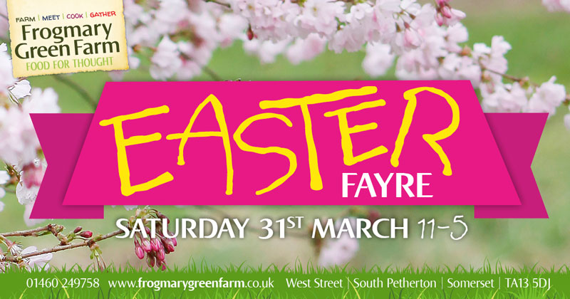 Frogmary Green Farm Easter Fayre 2018