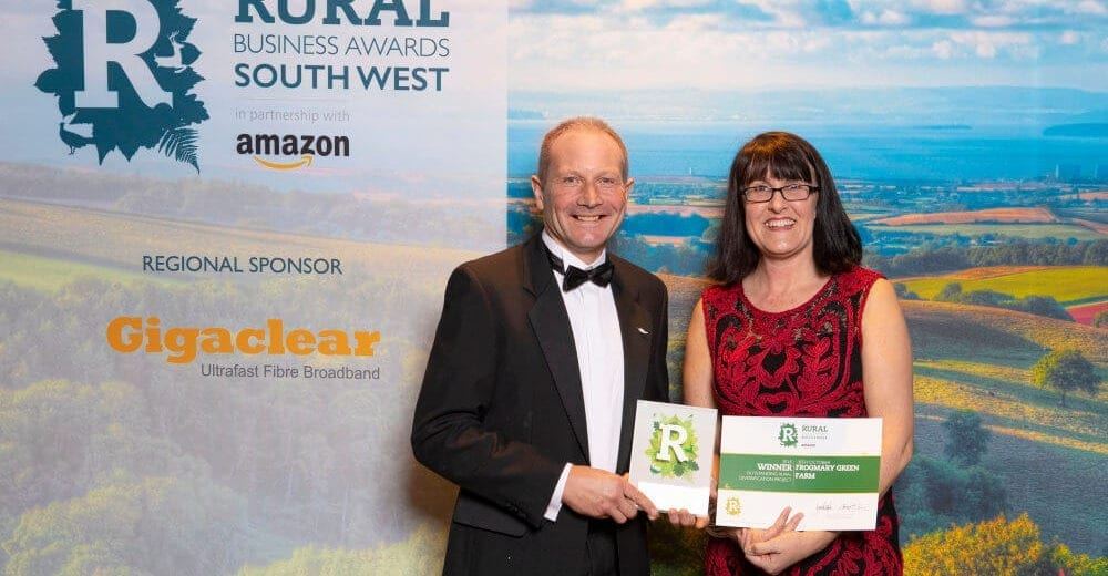 Winner of Rural Business Awards - South West