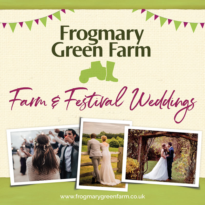 Frogmary Green Farm Wedding Brochure